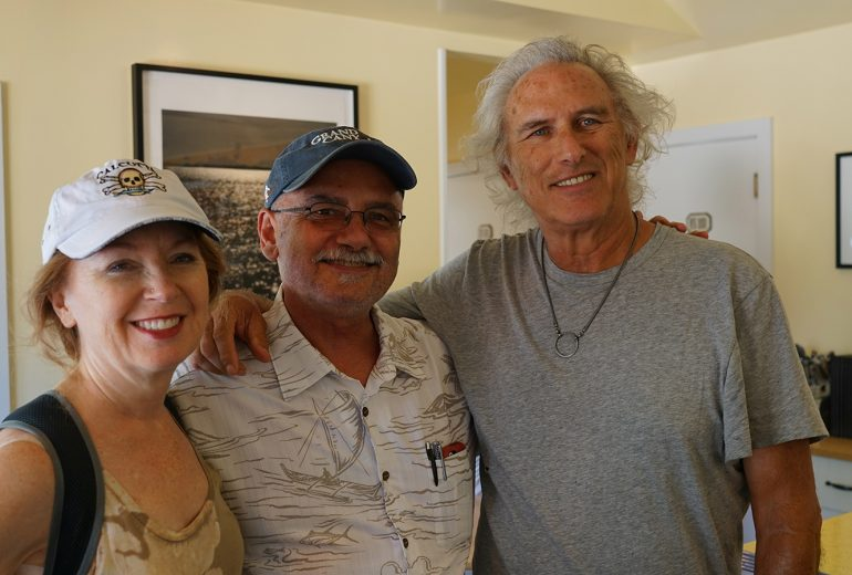 Michael Ruggiero with April Gornik and Eric Fischl
