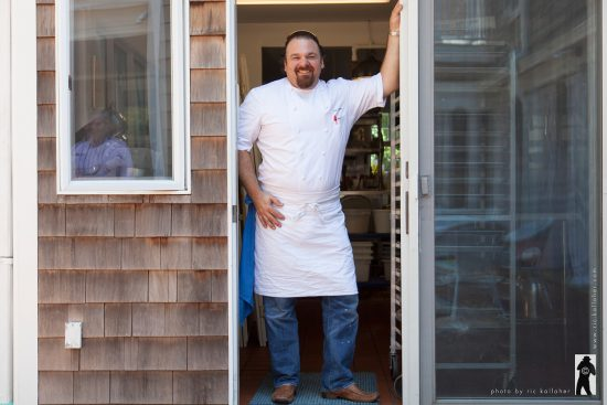 Chef Arie Pavlou of The Bridgehampton Inn & Restaurant