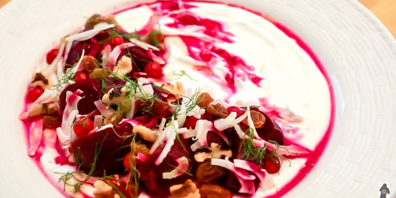 Woodfire Roasted Beets by chef Megan Huylo