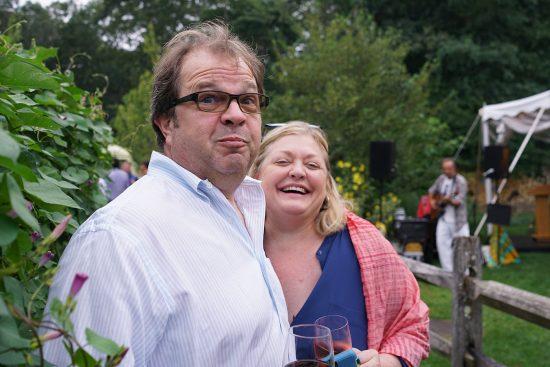 Estia regulars Doug & Susan Moyer