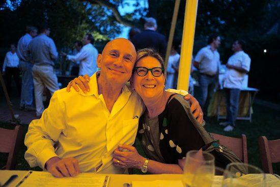 Estia regulars Mr. & Mrs. Joe Serling
