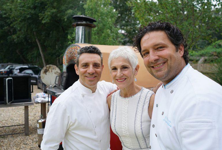 John Delucie, Claudia Flemming, Jim Botsacos