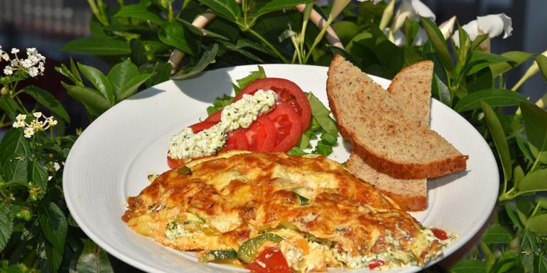 Victoria's Garden Omelet