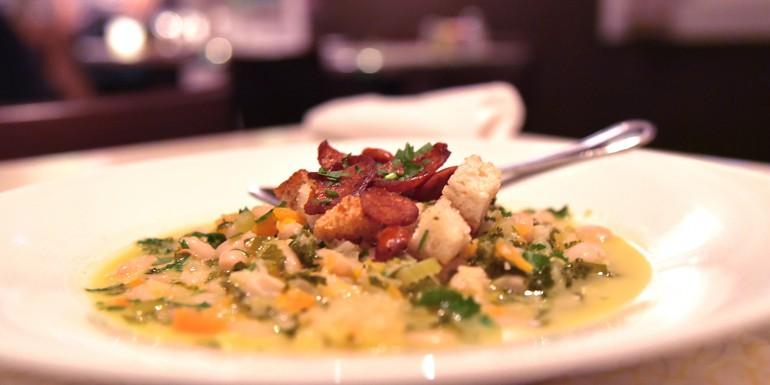 Portuguese style kale & sausage soup recipe
