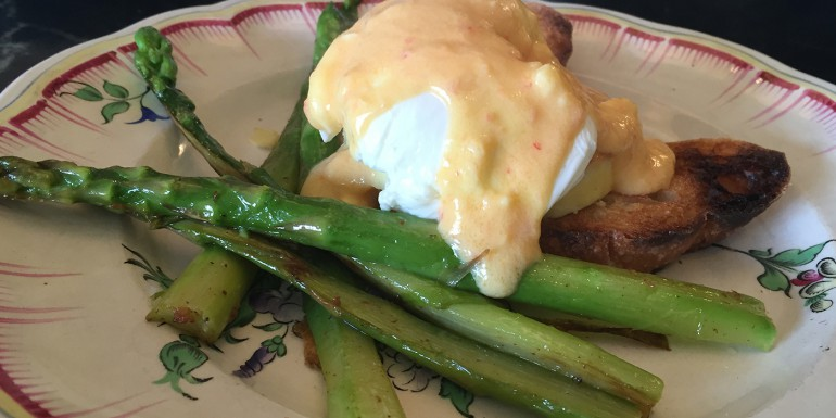 Tangerine Hollandaise