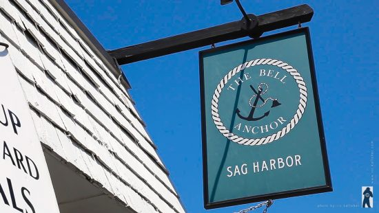 The Bell and Anchor Restaurant in Sag Harbor