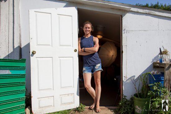 Chef Megan Huylo of Amber Waves Farm Kitchen in Amagansett