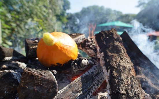 Burning the Red Kuri Squash