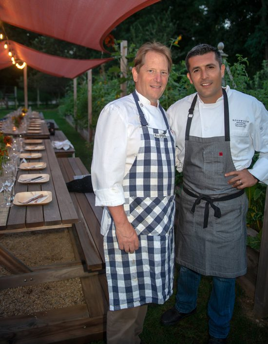 Chef Colin Ambrose and Chef Juan Pablo | Photo credit: Daniel Gonzales