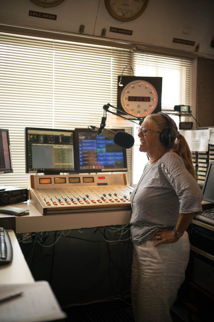 """Jessica Ambrose on """"Lunch on the Deck"""" WLNG 92.1, July 2021"""
